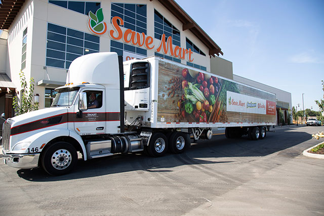 Save Mart Shipping Truck